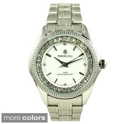 Pierre Jill Women's Luxury Crystal-accented Watch