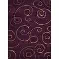 Hand-tufted Transitional Abstract Pink/ Purple Rug (5' x 8')