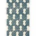 nuLOOM Handmade Contemporary Rope Tie Blue Rug (5' x 8')