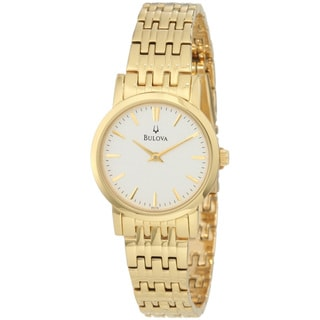 Bulova Women's Goldtone Dress Watch