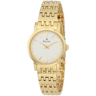 Bulova Women's 97L116 Goldtone Dress Watch