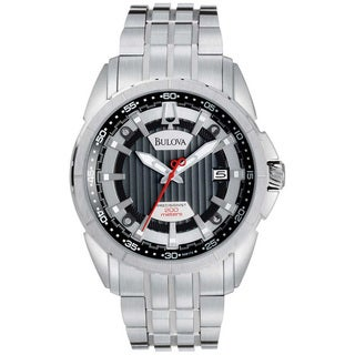 Bulova Men's 'Campton' Stainless Steel Watch