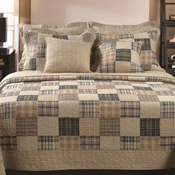 Oxford 3-piece Quilt Set