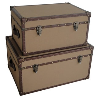 Valencia Rectangle Canvas Trunks