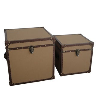 Valencia Square Canvas Trunks