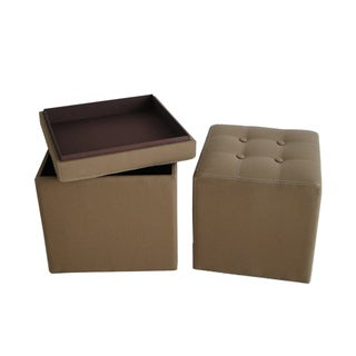 Valencia Canvas Storage Ottomans