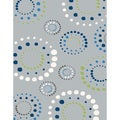 Eternity Geometric Grey Rug (2' x 3'11)
