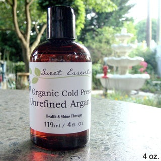 USDA Certified Organic Unrefined Virgin Moroccan Argan Oil
