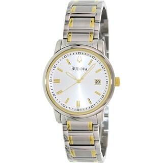 Bulova Men's 98B157 Stainless Steel Two-tone Watch