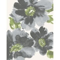 Eternity Floral Grey Rug (6'7 x 9'6)