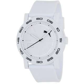 Puma Men's 'Active' White Dial Watch