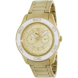 Puma Men's 'Motor' Goldtone Stainless Steel Watch