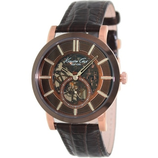 Kenneth Cole Men's 'Classic' Automatic Skeleton Dial Watch