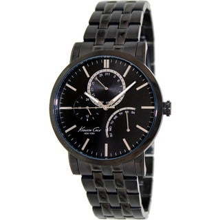 Kenneth Cole Men's 'Dress Sport' Black Stainless Steel Watch