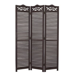 Maru 3-Panel Wooden Screen (China)