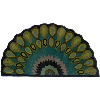 Half Circle Area Rugs Overstock Com Shopping Decorate