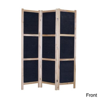 Tobin 3-Panel Fabric Screen (China)