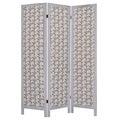 Tarbert 3-Panel Fabric Screen (China)