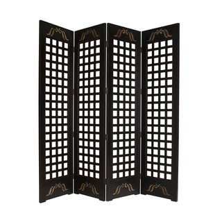 Omega 4-Panel Wood Screen (China)