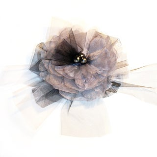 Organza Puff Magnetic Brooch