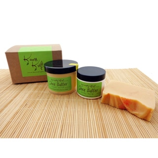 Lemon Pound Cake Soap Gift Set