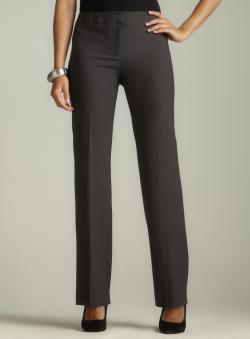 Calvin Klein Charcoal Bootcut Dress Pant