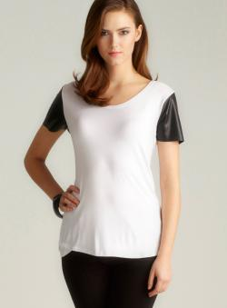 Romeo & Juliet Couture Contrast Sleeve tee