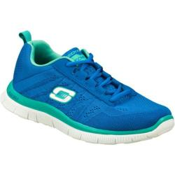 Women's Skechers Flex Appeal Sweet Spot Blue/Aqua