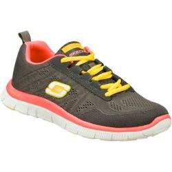 Women's Skechers Flex Appeal Sweet Spot Gray/Pink