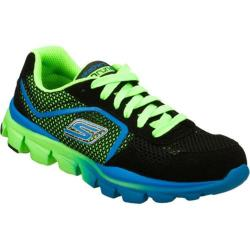 Boys' Skechers GOrun Ride Supreme Black/Green