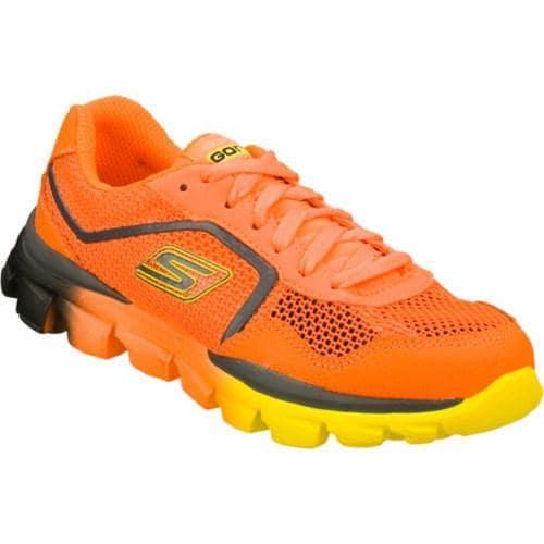 Boys' Skechers GOrun Ride Supreme Orange/Charcoal