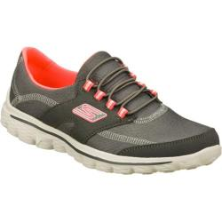 Women's Skechers GOwalk 2 Virtuosity Gray/Pink
