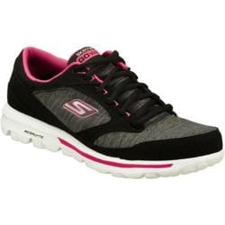 Women's Skechers GOwalk Dynamic Black/Pink