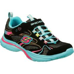 Girls' Skechers Lite Kicks Sprinterz Black/Multi