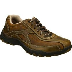 Men's Skechers Relaxed Fit Artifact Muster Brown