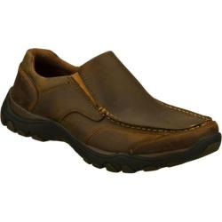 Men's Skechers Relaxed Fit Artifact Rusk Brown