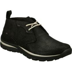 Men's Skechers Relaxed Fit Superior Keller Black