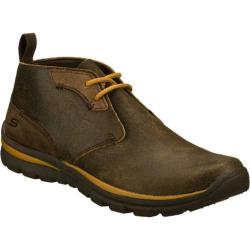 Men's Skechers Relaxed Fit Superior Keller Brown