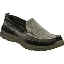 Men's Skechers Relaxed Fit Superior Melvin Black
