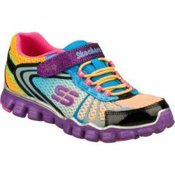 Girls' Skechers Skech Flex Running Wild Black/Multi