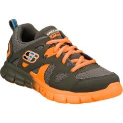 Boys' Skechers Synergy Forgo Silver/Orange