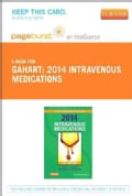 Intravenous Medications, 2014 Pageburst on VitalSource Access Code (Other merchandise)