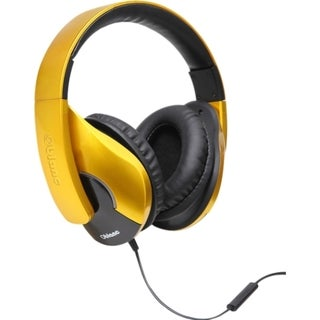 SYBA Multimedia Oblanc SHELL200 Saffron Yellow Stereo Headphone W/in-