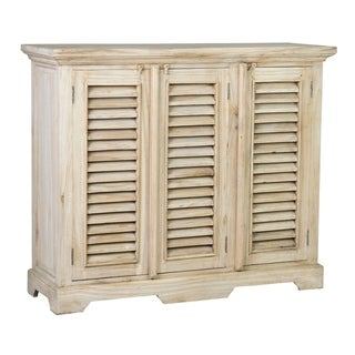 Decorative Promenade Natural Rustic 3 Door Shutter Sideboard