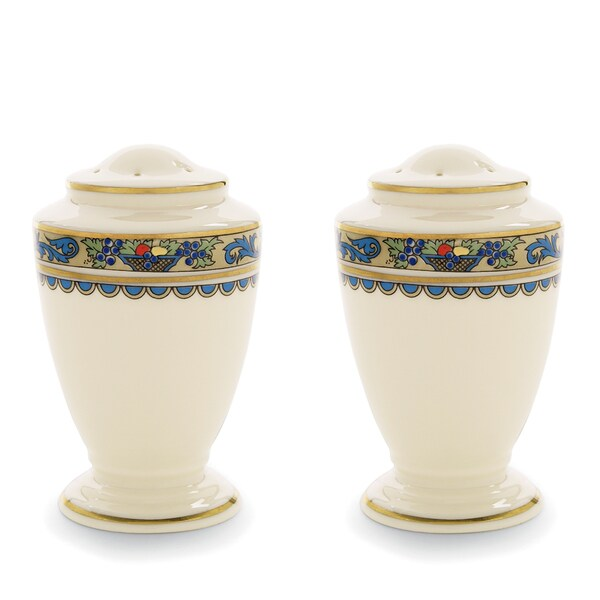 Lenox Autumn Salt and Pepper Shakers Set