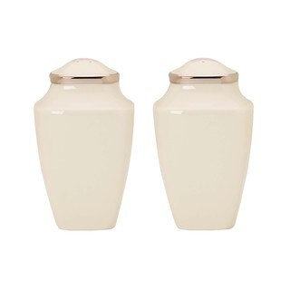 Lenox Solitaire Square Salt and Pepper Shakers Set