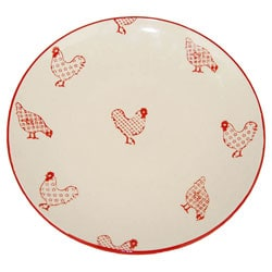 Small Barnyard Style Dinner Plates (Set of 6)