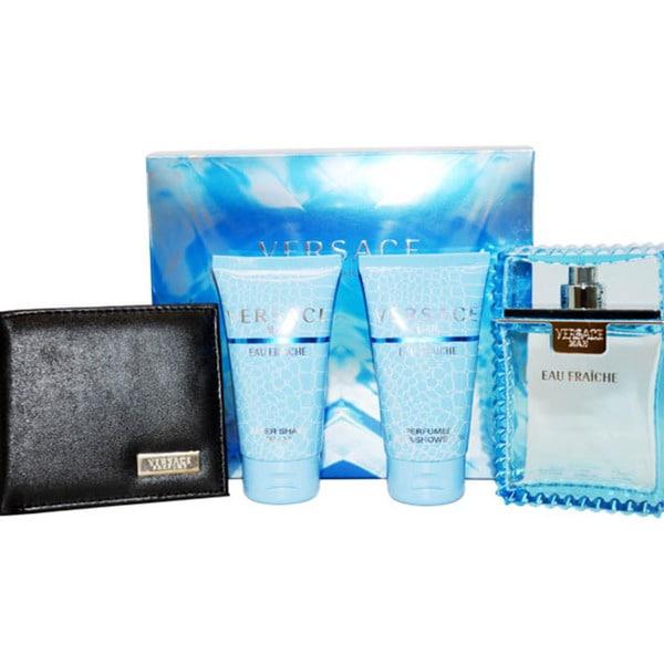 Versace Man Eau Fraiche 4-piece Fragrance Gift Set