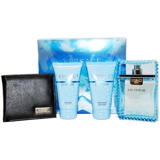 Versace Man Eau Fraiche 4-piece Fragrance Gift Set