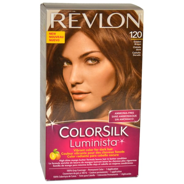 Revlon Colorsilk Luminista Golden Brown #120 Hair Color 11435156
